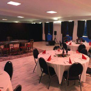 Weihnachtsfeier Technima Central Eventhalle Malterdingen bei Freiburg 8